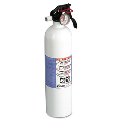 Residential series kitchen fire extinguisher, 2.9lb, 10-b:c, sold as 1 each