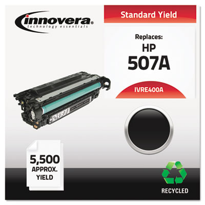 Remanufactured ce400a (m551) toner, 5500 page-yield, black, sold as 1 each