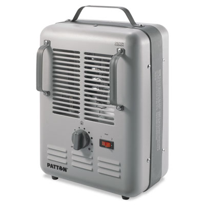 Utility heater, 7 7/10 x 10 3/10 x 14 3/5gray, sold as 1 each