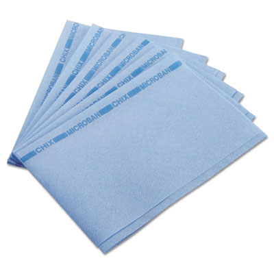 Food service towels, 13 x 21, blue, 150/carton, sold as 1 carton, 150 each per carton