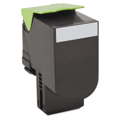 80c10k0 toner, 1000 page-yield, black, sold as 1 each