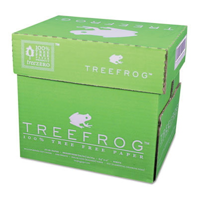 Tree-free copy paper, 20-lb., 8-1/2 x 11, 2500 sheets/carton, sold as 1 carton, 5 ream per carton