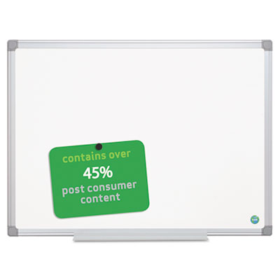 Earth gold ultra magnetic dry erase boards, 48 x 72 white, aluminum frame, sold as 1 each
