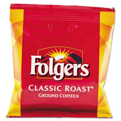 Coffee, fraction pack, classic roast, 1.5oz, 42/carton, sold as 1 carton, 42 each per carton