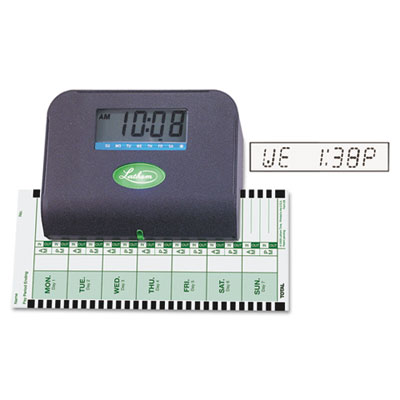 800p thermal print time recorder, 6 x 3 x 5-1/3, sold as 1 each