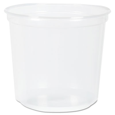 Rk ribbed cold drink cups, 5 oz, clear, sold as 1 carton, 2500 each per carton