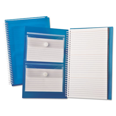 Index card notebook, ruled, 3 x 5, white, 150 cards per notebook, sold as 1 each