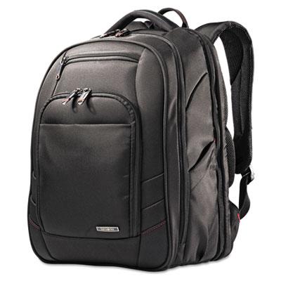 Xenon 2 laptop backpack, 12 1/4 x 8 1/4 x 17 1/4, nylon, black, sold as 1 each
