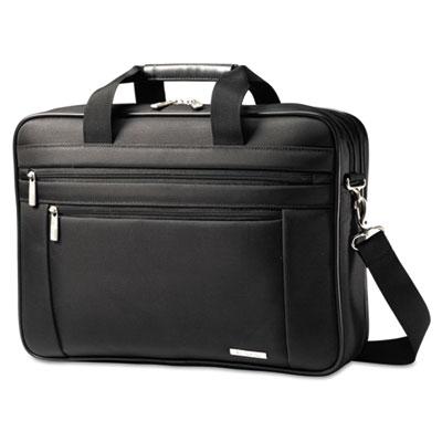 Classic perfect fit laptop case, 16 1/2 x 4 1/2 x 12, nylon, black, sold as 1 each