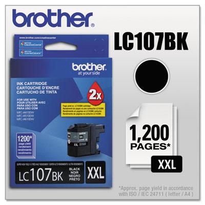 Lc107bk innobella super high-yield ink, black, sold as 1 each