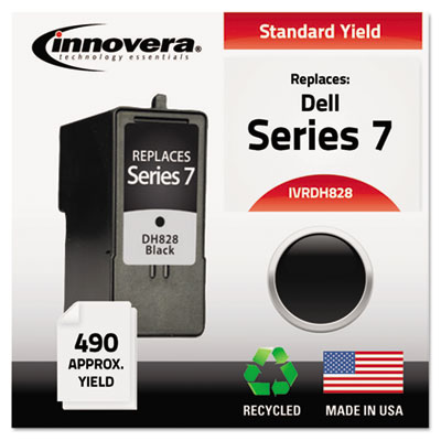 Remanufactured ch883 (series 7) ink, 490 yield, black, sold as 1 each