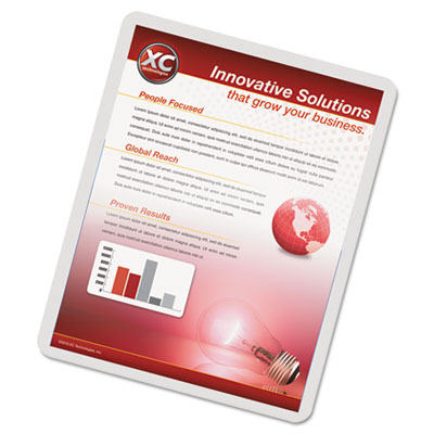 Imagelast laminating pouches with uv protection, 3mil, 11 1/2 x 9, 150/pack, sold as 1 package