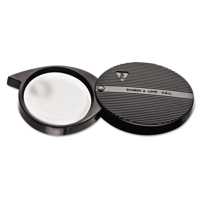 4x folded pocket magnifier, round, 36mm lens, sold as 1 each
