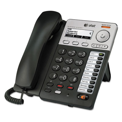 Syn248 sb35025 corded deskset phone system, for use with sb35010 analog gateway, sold as 1 each