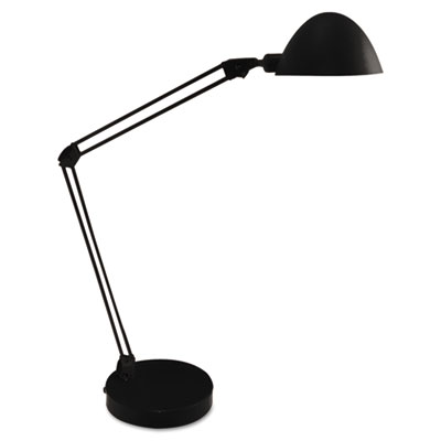 Led desk and task lamp, 5w, 5 1/2w x 21 1/4h, black, sold as 1 each