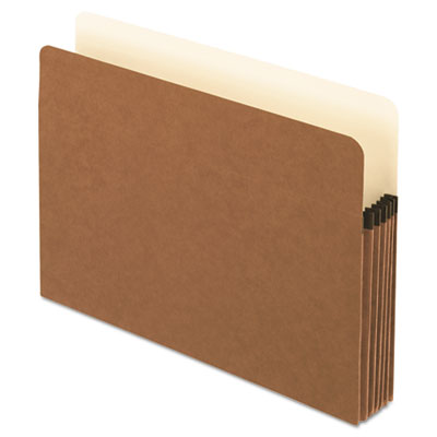 Smart shield file pocket, straight cut, 1 pocket, letter, red fiber, sold as 1 box, 10 each per box