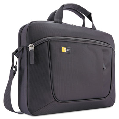 "Laptop and tablet slim case, 15.6"", 16 1/2 x 3 1/5 x 12 4/5, dark gray, sold as 1 each"