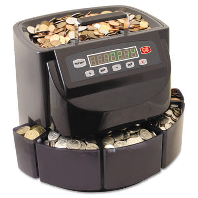 Coin counter/sorter, pennies through dollar coins, sold as 1 each