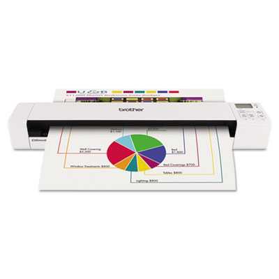 Ds820w wireless mobile scanner, 600 x 600 dpi, sold as 1 each