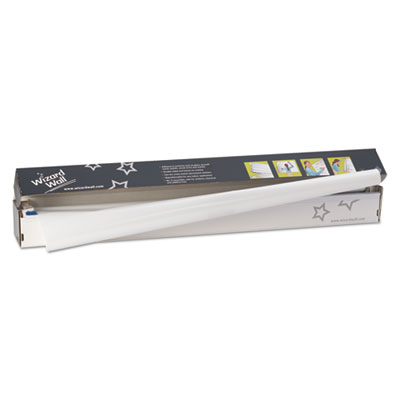 13? system, dry erase static-cling film, 13? x 25 ft, white, sold as 1 each