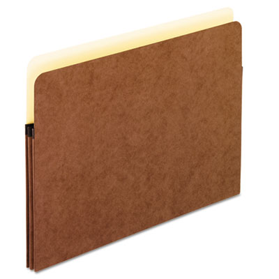 Standard expanding file pockets, manila, straight cut, 1 pocket, letter, red, sold as 1 box, 25 each per box