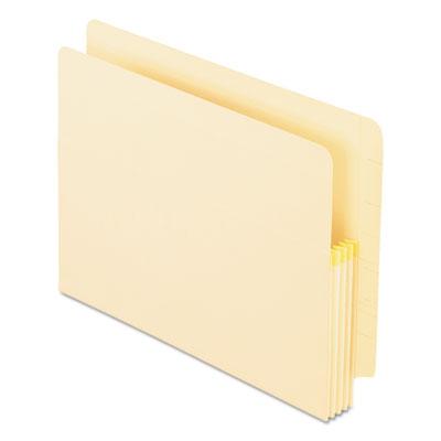 Manila drop front shelf file pockets, straight cut, 25 pockets, letter, manila, sold as 1 box, 25 each per box
