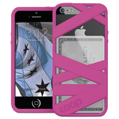 Mummy case for iphone 5/5s, magenta, sold as 1 each