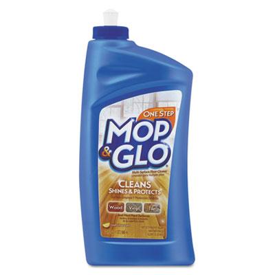 Triple action floor cleaner, fresh citrus scent, 32 oz bottle, sold as 1 each