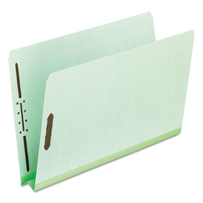 "Pressboard folders, 2 fasteners, 2"" expansion, full cut, letter, green, 25/box, sold as 1 box, 25 each per box"