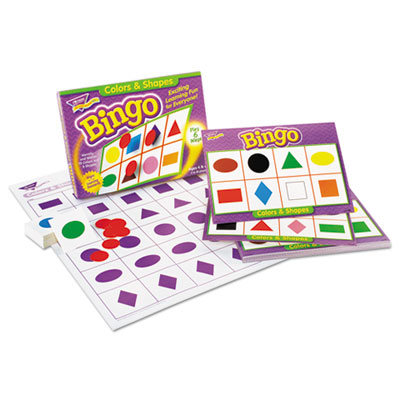 Young learner bingo game, shapes, sold as 1 each