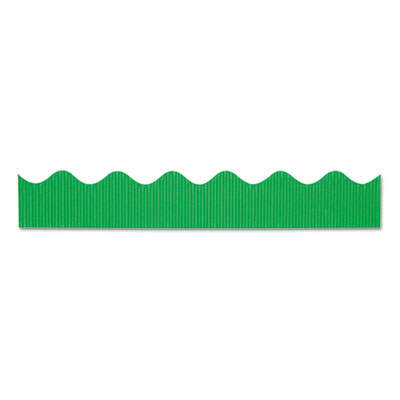 "Bordette decorative border, 2 1/4"" x 50 ft roll, apple green, sold as 1 roll"