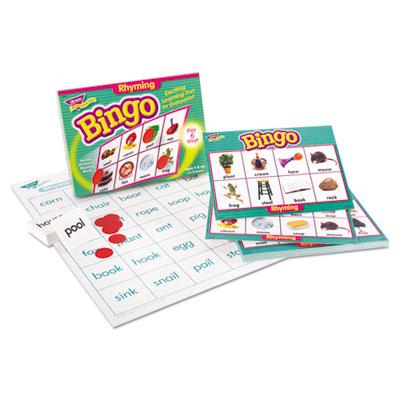 Young learner bingo game, rhyming words, sold as 1 each