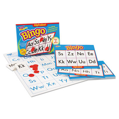 Young learner bingo game, alphabet, sold as 1 each