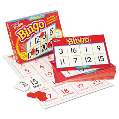 Young learner bingo game, numbers, sold as 1 each