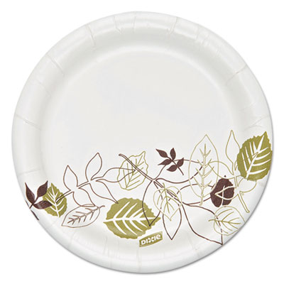 "Pathways soak proof shield heavyweight paper plates, 5 7/8"" dia, 125/pack, sold as 1 package"