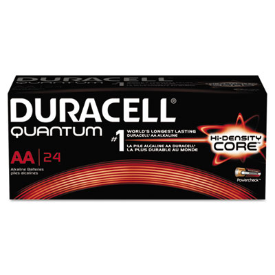Quantum alkaline batteries with duralock power preserve technology, aa, 24/box, sold as 1 box, 24 each per box
