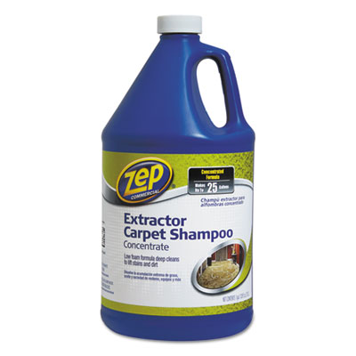 Carpet extractor shampoo, 1 gal bottle, sold as 1 each