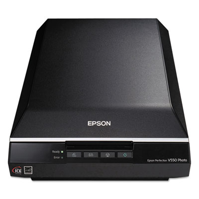 Perfection v550 photo color scanner, 6400 x 6400 dpi, sold as 1 each