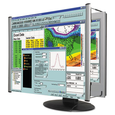 "Lcd monitor magnifier filter, fits 22"" widescreen lcd, 16:9/16:10 aspect ratio, sold as 1 each"