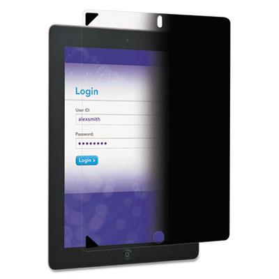 Easy-on privacy filter, ipad 2/3rd gen/4th gen, portrait, black, sold as 1 each