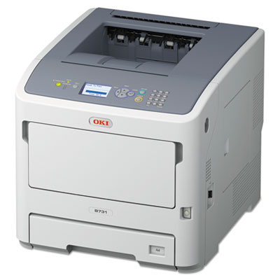 B731dn monochrome laser printer, sold as 1 each