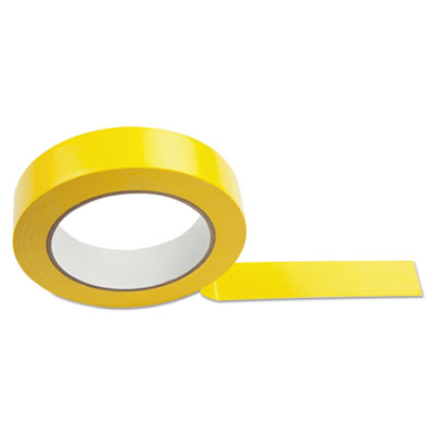 Floor tape, 1'' x 36 yds, yellow, sold as 1 each