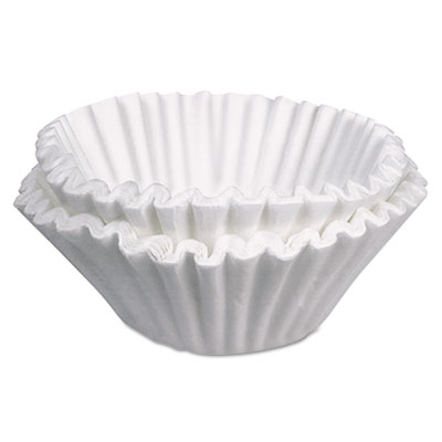Commercial coffee filters, 10 gallon urn style, 250/pack, sold as 1 carton, 250 each per carton