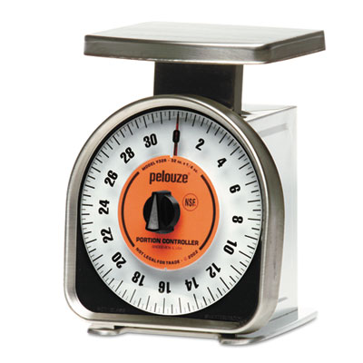 Pelouze y-line mech portion-control scale, 32oz cap, 6 x 6 platform, sold as 1 each