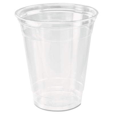 Ultra clear cups, squat, 12-14 oz, pet, 50/bag, 1000/carton, sold as 1 carton, 1000 each per carton