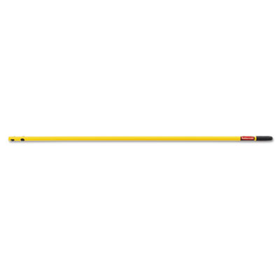 "Quick-connect steel mop handle, 52"", yellow, sold as 1 each"