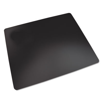 Rhinolin ii desk pad with microban, 36 x 20, black, sold as 1 each