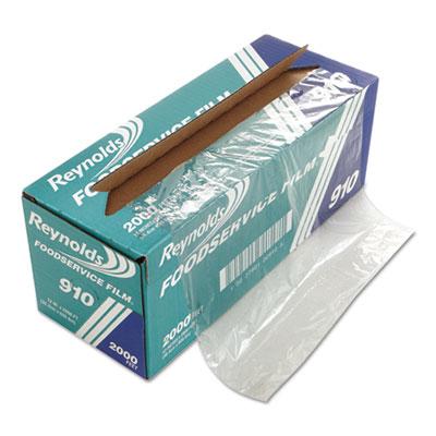 "Pvc film roll w/cutter box, 12"" x 2000 ft, clear, sold as 1 carton"