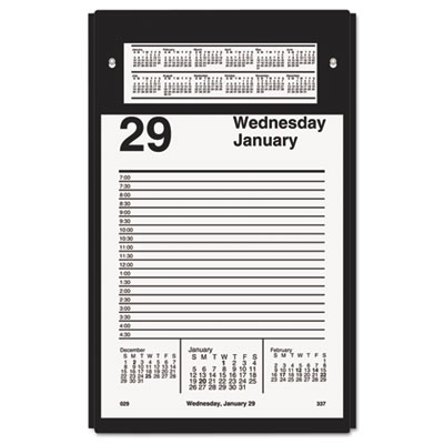 Pad style desk calendar refill, 5 x 8, 2016, sold as 1 each