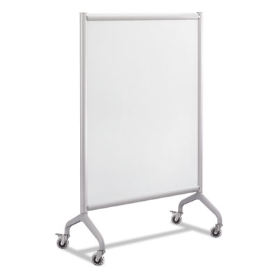 Rumba full panel whiteboard collaboration screen, 36 x 54, white/gray, sold as 1 each